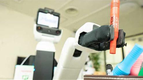 کمرے کی صفائی کرنیوالا روبوٹ