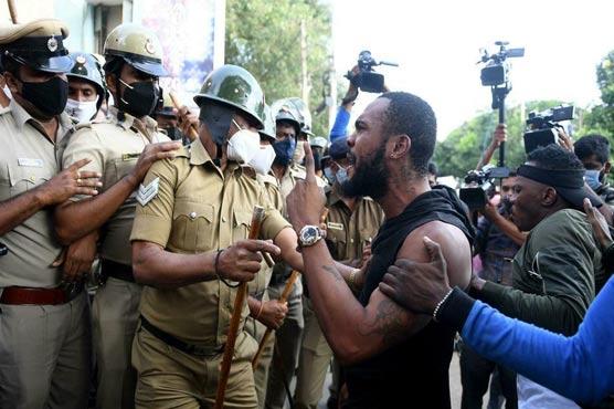بھارتی پولیس کی حراست میں کانگو کا باشندہ ہلاک،بنگلور میں مظاہرے