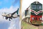 ٹرینیں گھنٹوں تاخیر کا شکار،24 پروازیں منسوخ