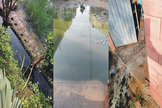 گورنمنٹ گرلز ہائی سکول پانی میں ڈوب گیا،تعفن،مچھر پیدا