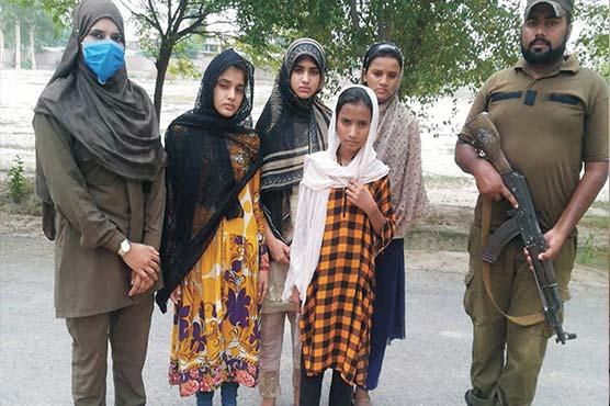 لاہور سے لاپتہ 4بچیاں ساہیوال سے برآمد