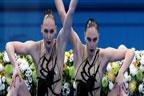 اولمپکس: روس کی سویتلانا کا آرٹسٹک سوئمنگ میں تاریخ ساز کارنامہ