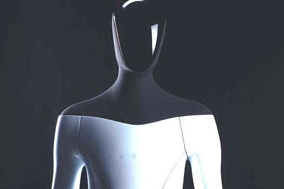 ٹیسلا کمپنی نے انسان نما اے آئی روبوٹ بنانیکا اعلان کردی