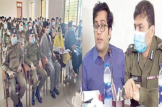 آ زاد کشمیر الیکشن ، گجرات میں 32 پو لنگ سٹیشن حساس قرار