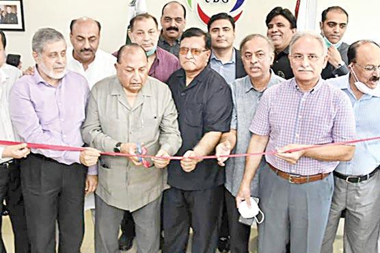 یونائیٹڈ بزنس گروپ کے سینٹرل سیکرٹریٹ کابلیو ایریا میں افتتاح
