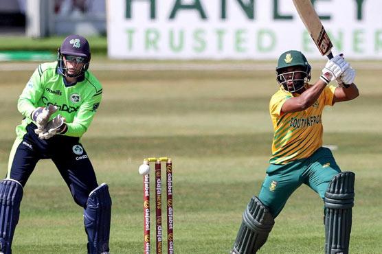 پہلا ٹی ٹونٹی،جنوبی افریقہ نے آئرلینڈ کو 33رنز سے ہرا دیا