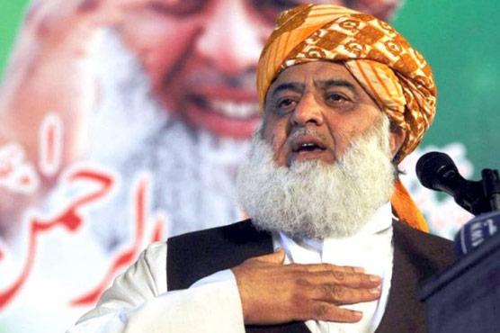 کٹھ پتلی حکمرانوں کے انتقام کی کوئی حیثیت نہیں:فضل الرحمن