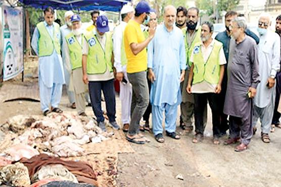 اجتماعی قربانی،کھالوں کا عطیہ الخدمت پراعتماد کا مظہر ، حافظ نعیم