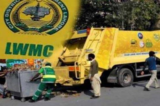 ایل ڈبلیو ایم سی :شہر سے 55 ہزار ٹن آلائشیں اٹھائی گئیں