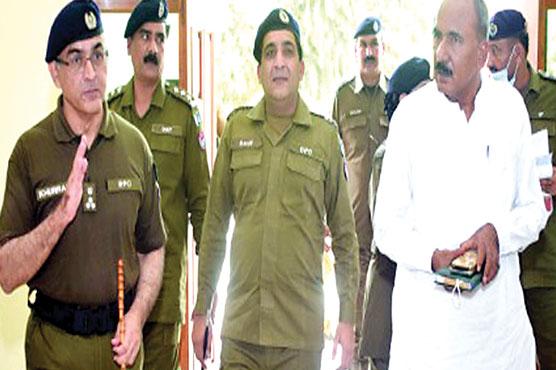 پنجاب حکومت تھانوں کو وسائل فراہم کررہی:آر پی او