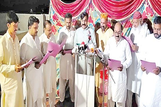 آل پاکستان کھنڈووا اتحاد کی  تقریب حلف برداری کاانعقاد