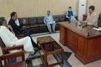 ایم پی اے امین اللہ خان کی عمر شیر چٹھہ کیساتھ ملاقات