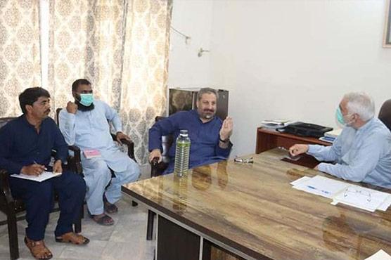 امجد علی خان کی ایس ای ،ایکسین  اور ایس ڈی اوز کیساتھ  میٹنگ،بجلی مسائل پر تبادلہ خیال