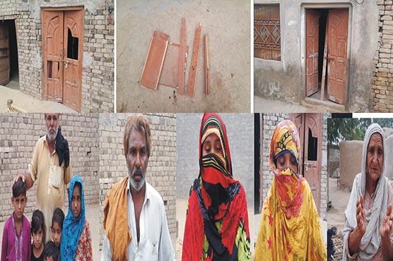 پولیس مظالم سے تنگ خاندان کی خودسوزی کی دھمکی