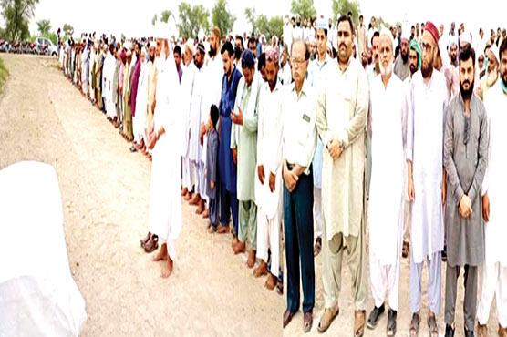 تحریک انصاف کے رہنما کرنل(ر) عابد محمودکھگہ کی اہلیہ انتقال کرگئیں