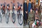 چور گینگ کے 2ارکان گرفتار،4موٹر سائیکلیں برآمد