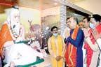 حیدرآبادچھائونی میں قائم مندر کی تزئین و آرائش