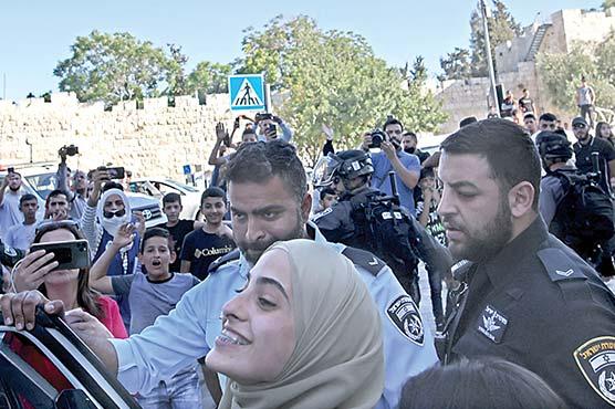 اسرائیلی شیلنگ، 23فلسطینی زخمی، خاتون صحافی رہا