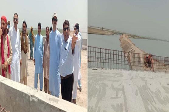 عمر چٹھہ،امین خان کا زیر تعمیر پل اور سڑک کا تفصیلی معائنہ