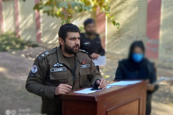 ایس ایس پی انویسٹی گیشن عامر خان کی  میٹنگ،کرائم کنٹرول کرنیکی ہدایت