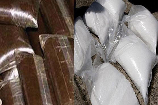 ڈسکہ :2خواتین سمیت  3 افراد منشیات بر آ مد