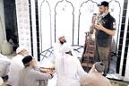 حافظ آباد: ڈی ایس پی صدر کی  جامع مسجدصوبیدار والی کھلی کچہری