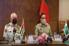 جنرل ندیم رضا کی اردن میں اپنے ہم منصب سے ملاقات