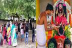 بھارت:وباکا خوف، گاؤں کے مکینوں  نے ''کورونا دیوی''کامندربنالیا