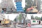 شیرانوالہ گیٹ فلائی اوور کی تعمیر 'سڑک جزوی بند