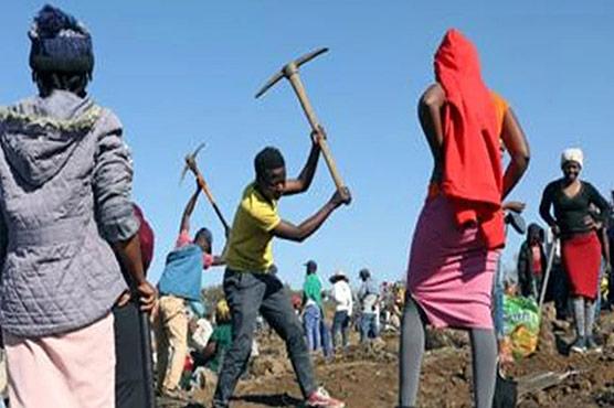 جنوبی افریقہ :کھدائی کے دوران بیش قیمت ہیرے مل گئے