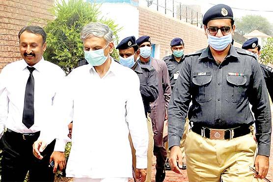 ایڈیشنل سیشن جج کا  ڈسٹرکٹ جیل شاہ پور کا  دورہ ،2 حوالاتیوں کی رہائی