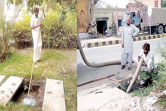 ''خدمت آپ کی دہلیزپر ''  شکایات حل کر رہے : اعجاز احمد