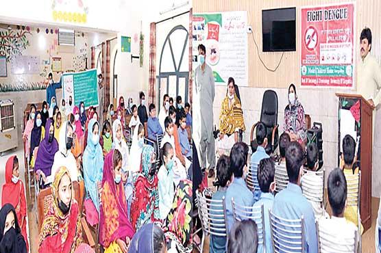 ڈینگی سے بچائو کیلئے ماحول کو  صاف رکھنا ہو گا :شیراز وڑائچ