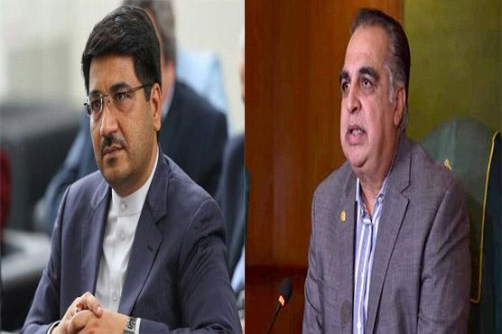 گورنر سندھ عمران اسماعیل سے ایرانی قونصل جنرل کی ملاقات