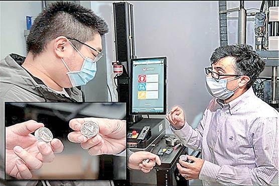 کاربن ڈائی آکسائیڈ جذب کرکے اپنی مرمت کرنیوالا کنکریٹ