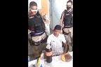 پولیس والوں نے چور کی سالگرہ تھانے میں 'جبراً' منائی