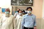 ڈپٹی کمشنر میانوالی کا ڈسٹرکٹ ہیڈ کوارٹر ہسپتال کا دورہ