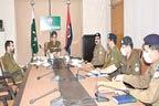 آر پی او سرگودھا کی زیر صدارت سکیورٹی اور کرائم کنٹرول اجلاس