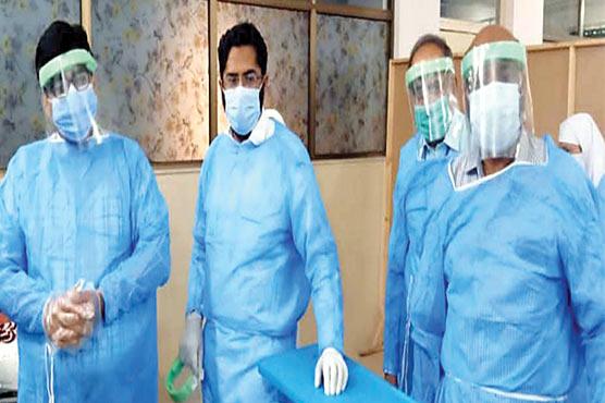 بورے والا میں کورونا وارڈ کو فعال کر دیا گیا :ڈاکٹر انجم اقبال