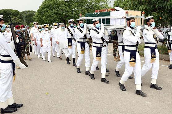 سابق امیرالبحرکرامت رحمان  نیازی انتقال کرگئے ،مسلح افواج  کے سربراہوں کی تعزیت