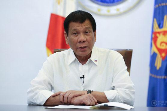 صرف میں گالی دے سکتا ہو ں  کوئی وزیر نہیں :فلپائنی صدر