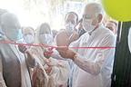 چک بیلی خان بیسک ہیلتھ یونٹ میں ویکسی نیشن سنٹر کا افتتاح