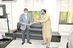 ولی الرحمان خان کی کموڈور  (ر) محمد صدیق سے ملاقات