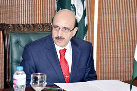 پاکستان بات چیت میں موقف پر قائم رہے ، سردارمسعود