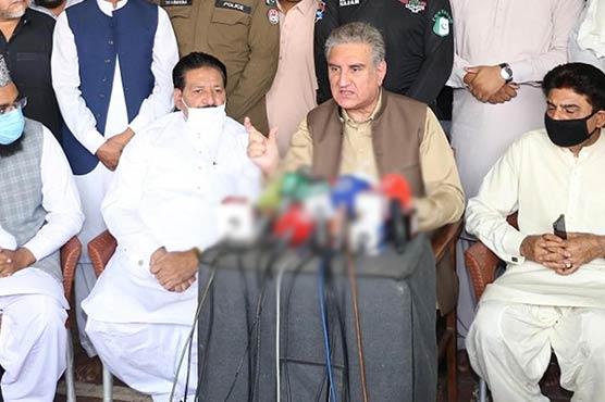 شہباز چلے گئے تو ہم پر مک مکا کا الزام لگے گا:شاہ محمود