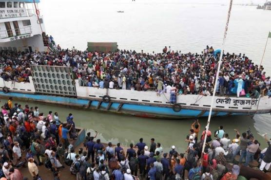 بنگلہ دیش ، کشتیوں سے اترتے ہوئے بھگدڑ مچنے سے 5افراد ہلاک، 20زخمی