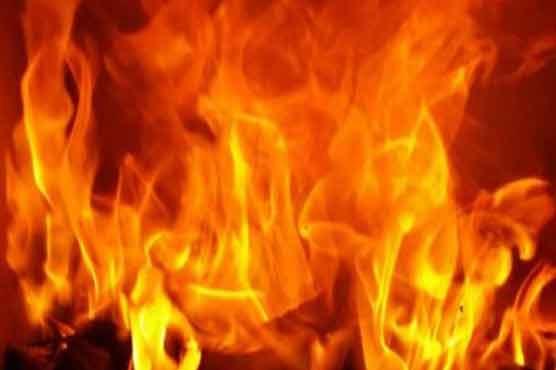 اوکاڑہ: درزی کی  دکان میں آتشزدگی