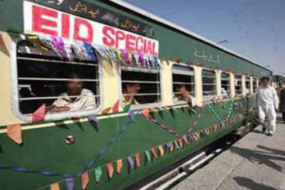 خسارہ، انٹر سٹی عید سپیشل ٹرینیں آج سے بند کرنے کا فیصلہ