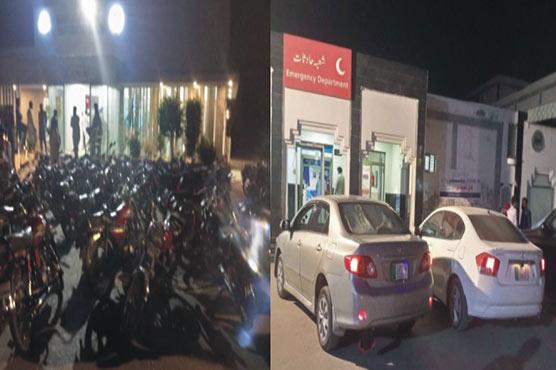 ڈی ایچ کیو ہسپتال:ٹھیکہ نہ ہونے سے پارکنگ نظام درہم برہم