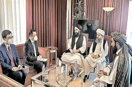 پابندیاں نہ ہٹیں تو دنیا میں سلامتی متاثرہوگی:طالبان